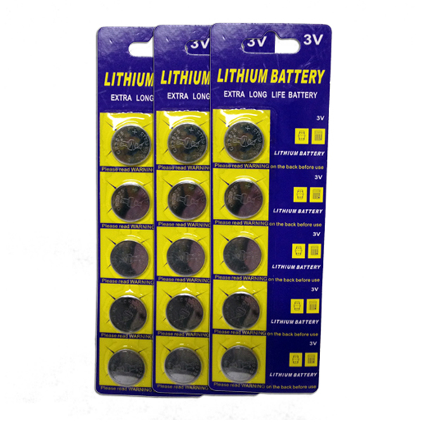 Mr. Light CR2025 3V Lithium Ion Batteries - 15 Pieces