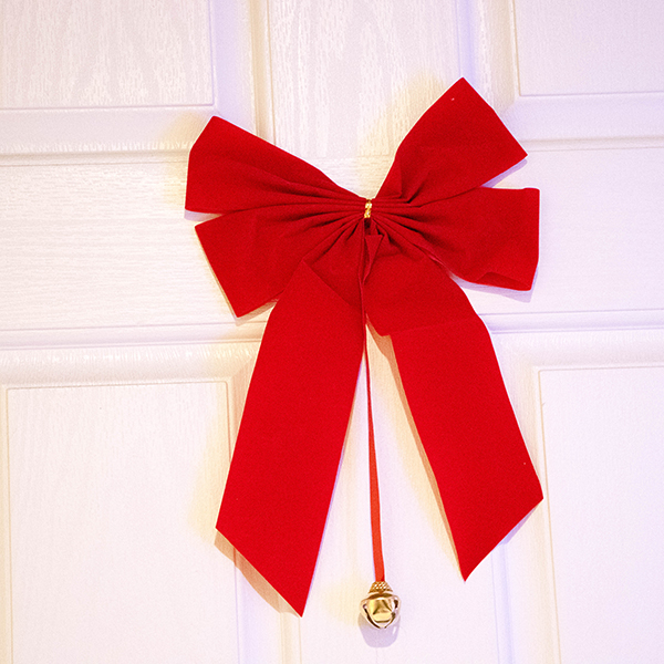 Red Fabric Bow (Unlit)