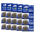 15 Pieces CR2477 3V Lithium Ion Batteries