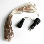 Extension Wire for Solar Garlands & Curtain Lights