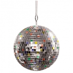 "Giant Mirror Ball - Diameter 7"" - Multi Colored"